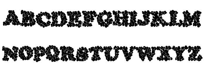 ThunderHead Font UPPERCASE