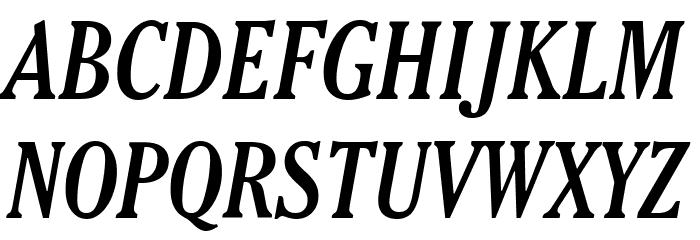 Thyssen J Italic Fonte MAIÚSCULAS