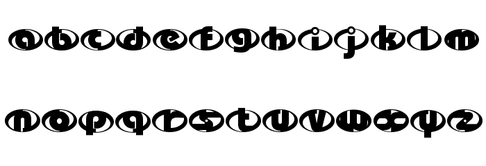 the-Incredibles Font UPPERCASE