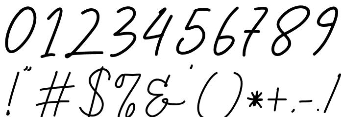Tiffany Script Caratteri ALTRI CARATTERI