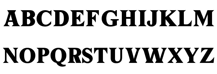 Tiffany フォント 大文字