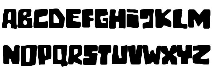 Tiki Tako Font Litere mari