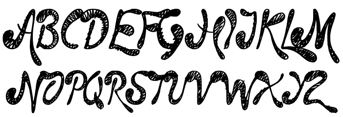 Time Machine Font Litere mari