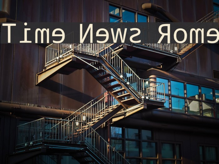 Time News Rome Font examples