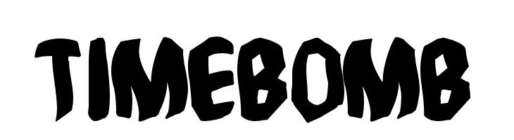 Timebomb  baixar fontes gratis