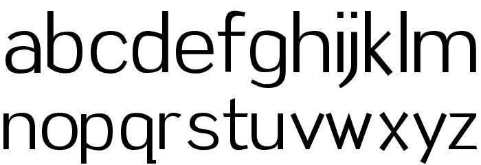 Tin Birdhouse Font LOWERCASE