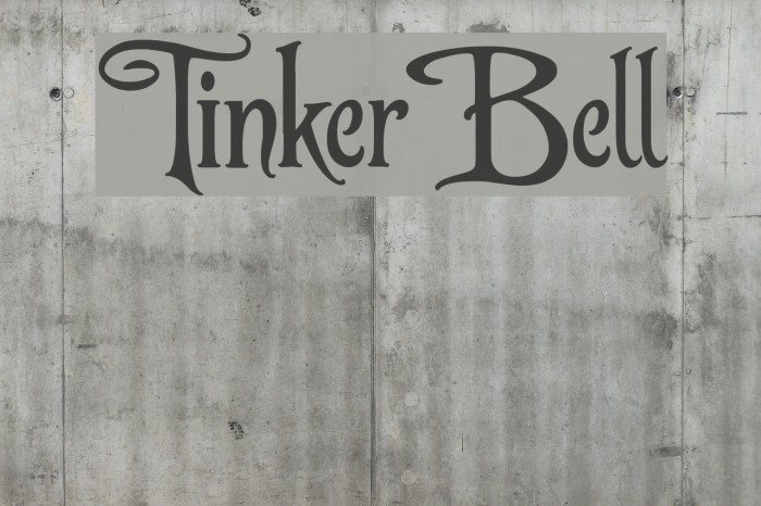 TinkerBell Fonte examples