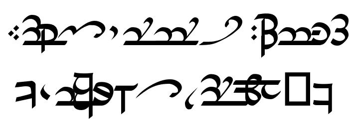 Tirion Sarati Шрифта строчной