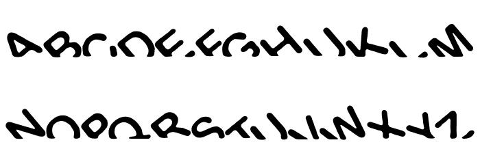 Titanic Font UPPERCASE