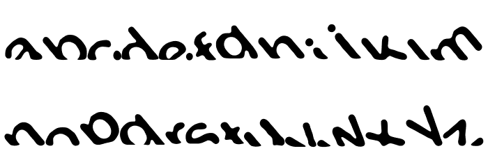 Titanic Font LOWERCASE