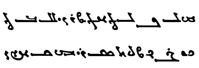 Titus Manichean Font Litere mari