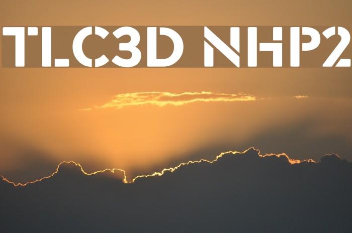 TLC3D NHP2 Font examples