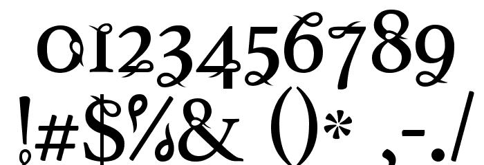 Tlakah Шрифта ДРУГИЕ символов