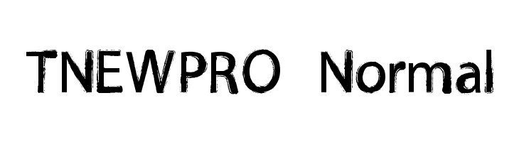 TNEWPRO Normal  Free Fonts Download