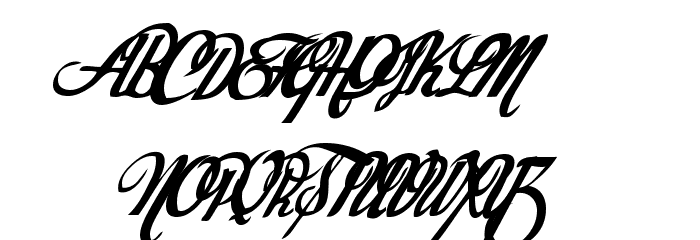 Today Font UPPERCASE