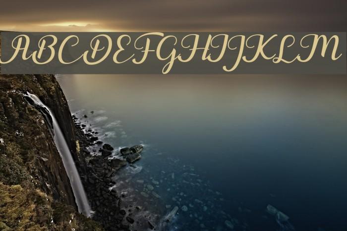 Togetha Font examples
