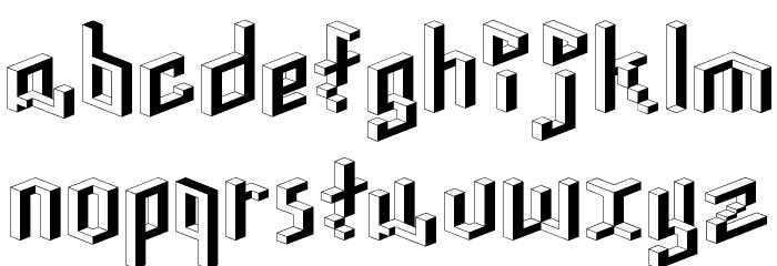 Toit-RegularA Font LOWERCASE