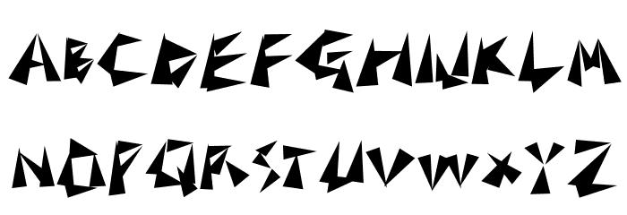 TonGaru Font UPPERCASE