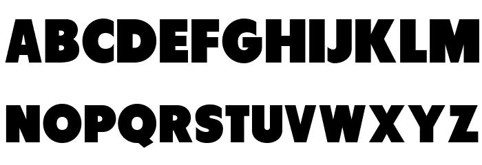 Tondu-Beta Font UPPERCASE