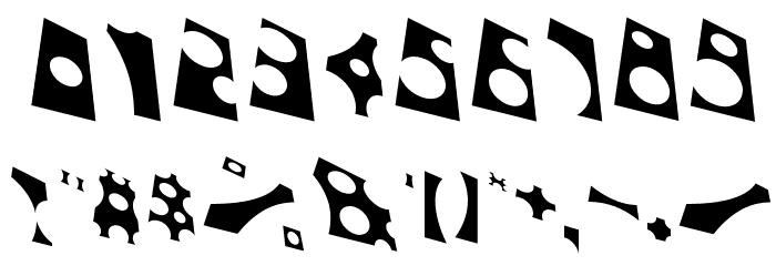 Toolego-FreeFlight Font OTHER CHARS