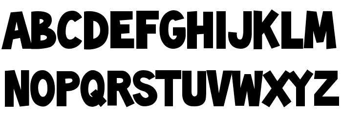 toonish font