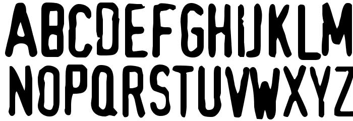 TopSecret Font UPPERCASE