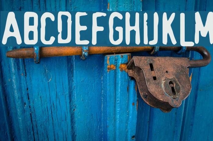TopSecret Font examples