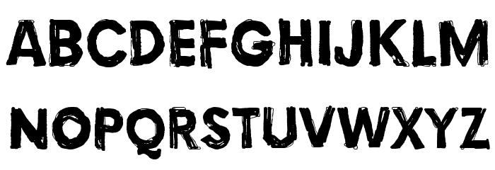 Torture, Dark Fonte MAIÚSCULAS