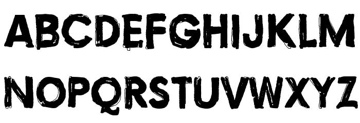 Torture, Dark Fonte MINÚSCULAS