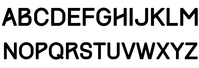 Track Font LOWERCASE