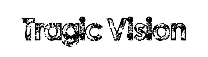 Tragic Vision Font - free fonts download