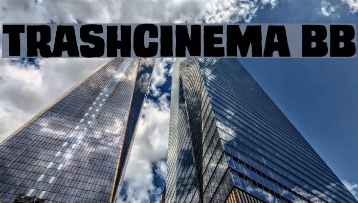 TrashCinema BB Font examples