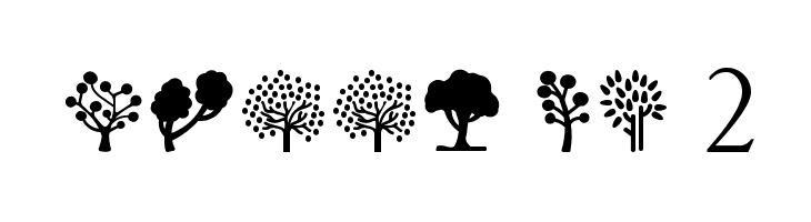 Trees Go 2  Free Fonts Download