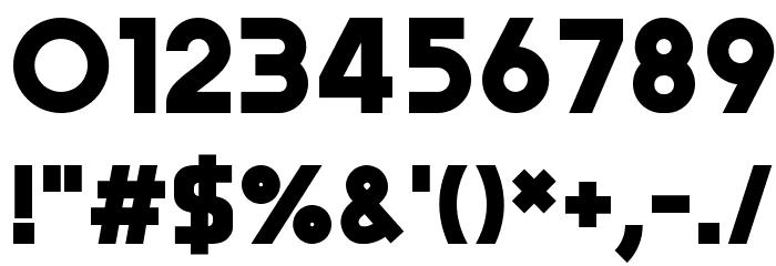 Trender Font OTHER CHARS