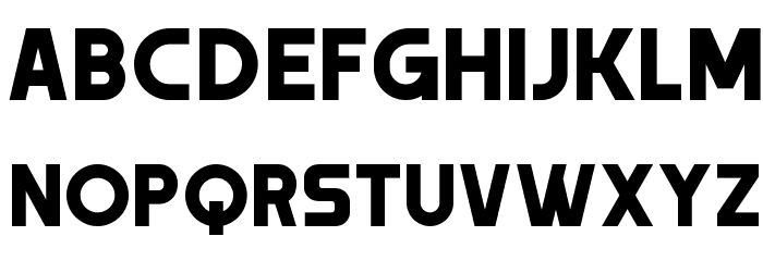 Trender Font LOWERCASE