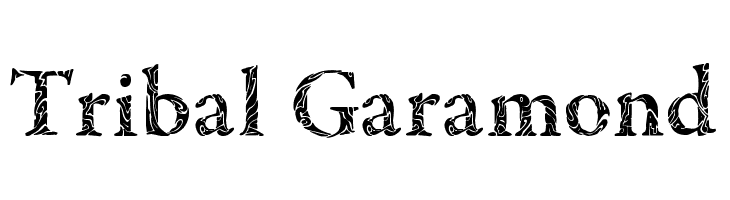 Tribal Garamond  Descarca Fonturi Gratis