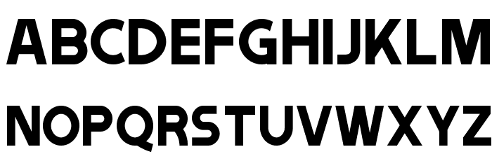 Tribbon A Font UPPERCASE