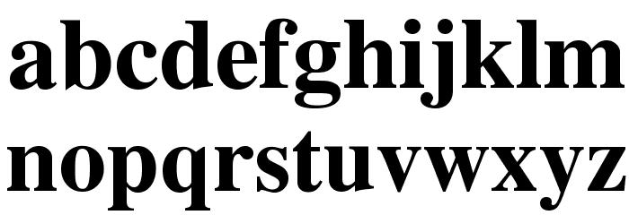 Tribune Bold Шрифта строчной