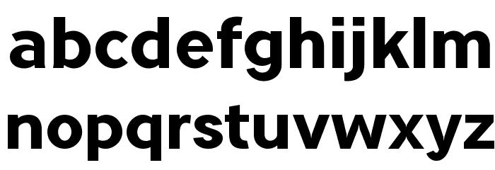 Tripleta-ExtraBold Font LOWERCASE