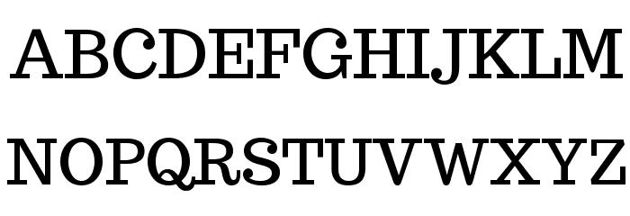 Trocchi Regular Font UPPERCASE