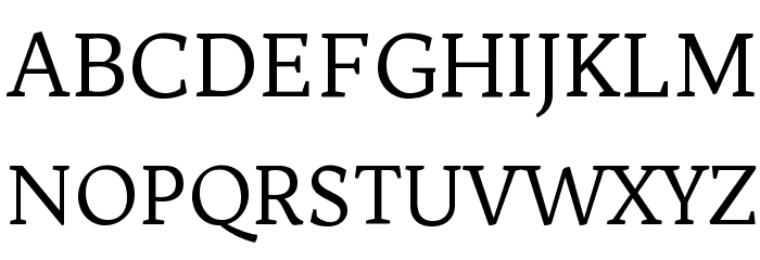 Trykker Regular Font UPPERCASE