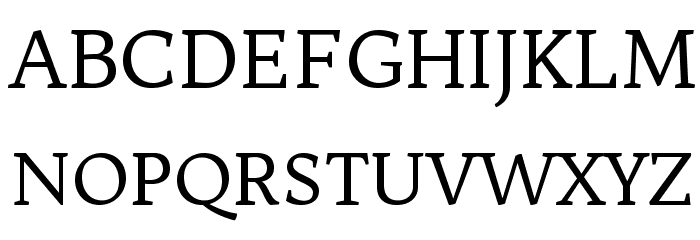 Trykker Font UPPERCASE