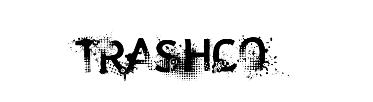 trashco  Free Fonts Download