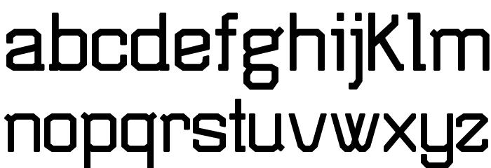 TSGActie-Bold Font LOWERCASE