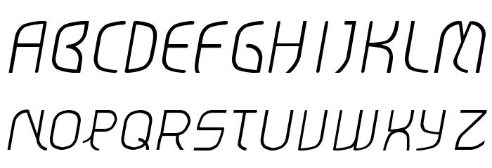 TT-Italic لخطوط تنزيل الأحرف الكبيرة