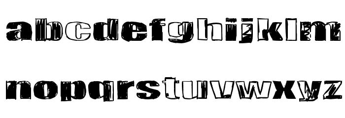 Tulihuuma Font Litere mari