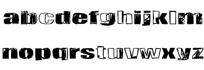 Tulihuuma Font Litere mici