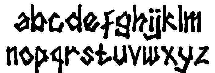 tulisan tanganku Font LOWERCASE