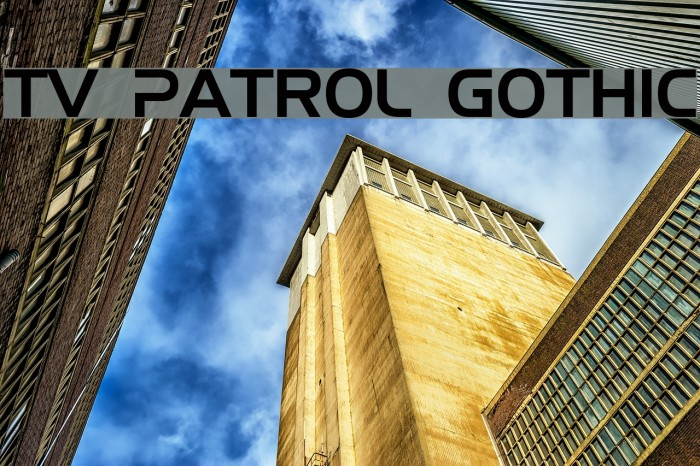 TV Patrol Gothic Polices examples