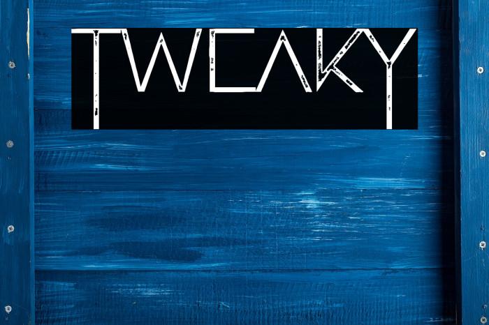 Tweaky Caratteri examples